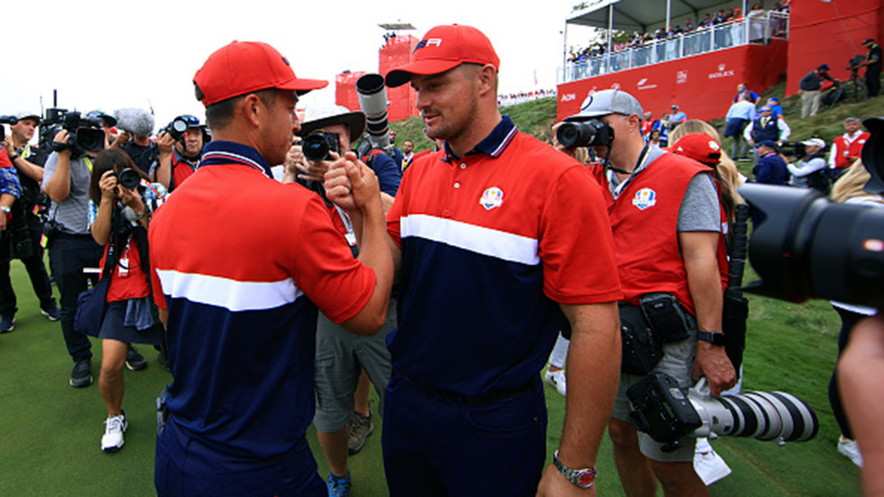 Is there a changing of the guard in world golf after United States' resounding victory?