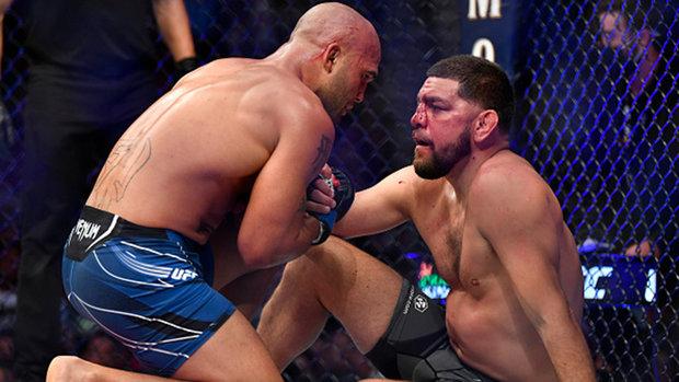 How did Diaz look in return to octagon?