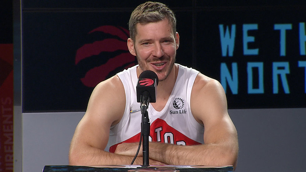 Dragic ready to 'give everything' to Raptors, apologizes for sending wrong message upon trade