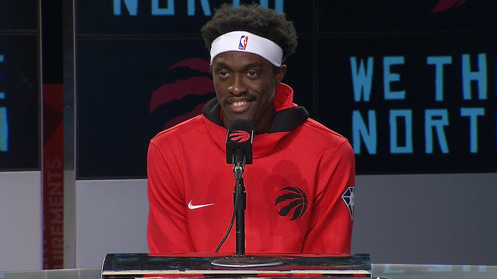 Siakam not concerned with label of being 'the guy', he just wants to be 'the guy who wins'