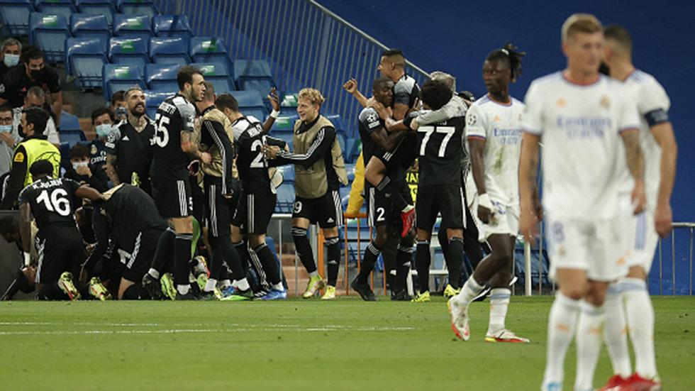 UEFA Champions League: Real Madrid 1, Sheriff Tiraspol 2