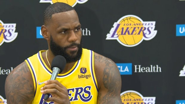 LeBron on getting vaccinated: Best for me and my family