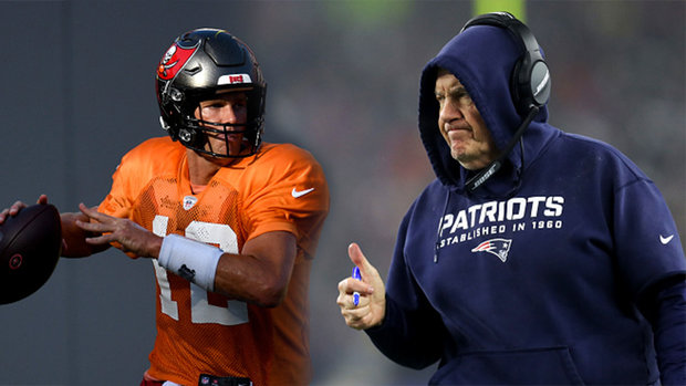 Will Brady and Belichick hug after the game?