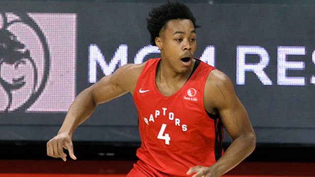 Barnes' personality and work ethic already making an impression on Raps