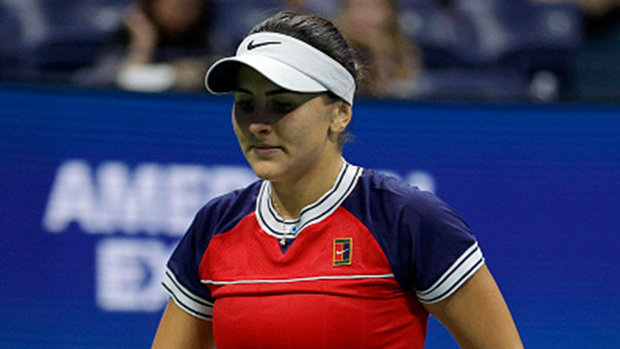 Andreescu falls in straight sets to Rogers in Chicago