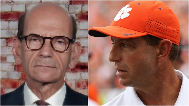 Finebaum: 'Dabo's dynasty is done' at Clemson