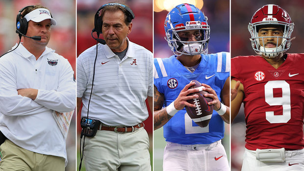 Kiffin vs. Saban, Corral vs. Young headlines most hyped game of college season so far