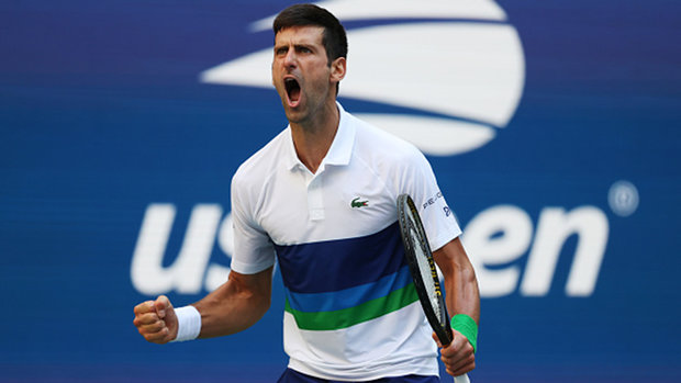 Djokovic downs Nishikori to advance at US Open