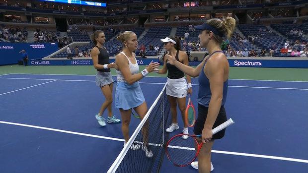 Dabrowski, Stefani advance to doubles third round at US Open