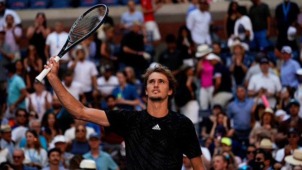 Zverev marches past Sinner in straight sets to reach US Open quarters