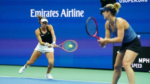 Dabrowski reaches US Open quarters in women's doubles